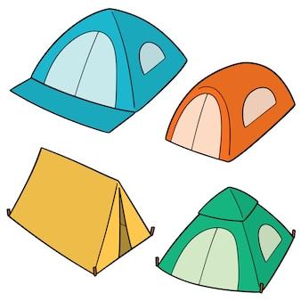テントのセット