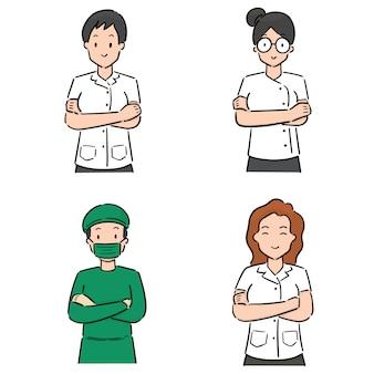 Набор медицинского персонала