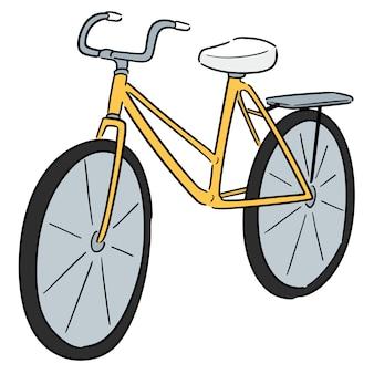 漫画の自転車
