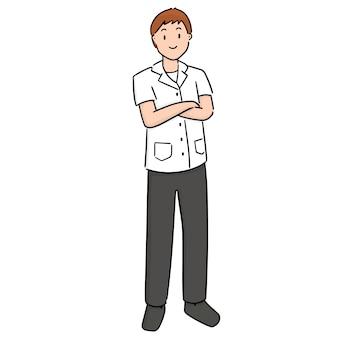 漫画の医者