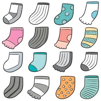 靴下のセット