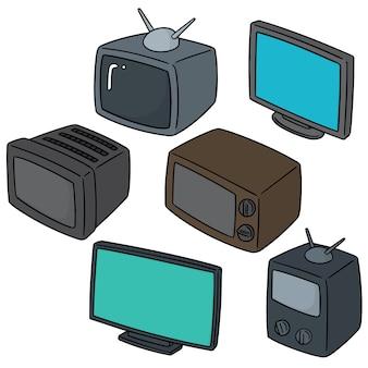 テレビのセット