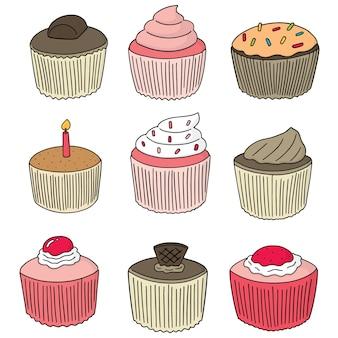 カップケーキのセット