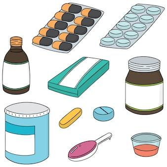 薬のセット