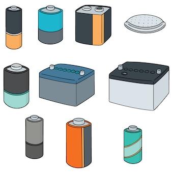 バッテリーのセット