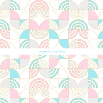 幾何学的抽象模様のデザインをタイル化する