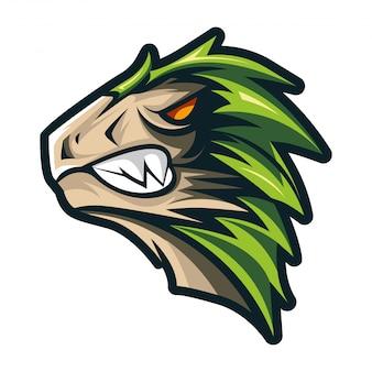 Свирепый динозавр