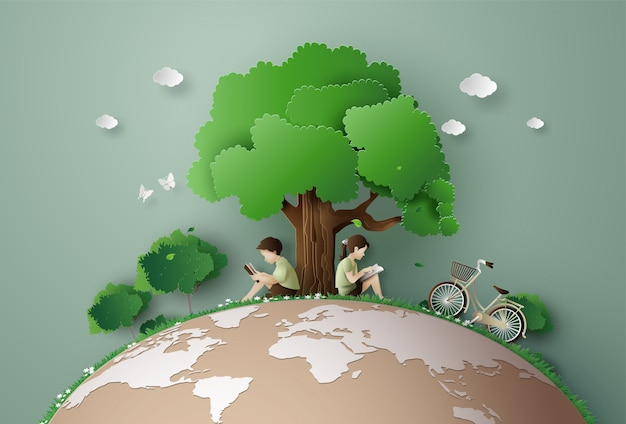 エコと環境の概念