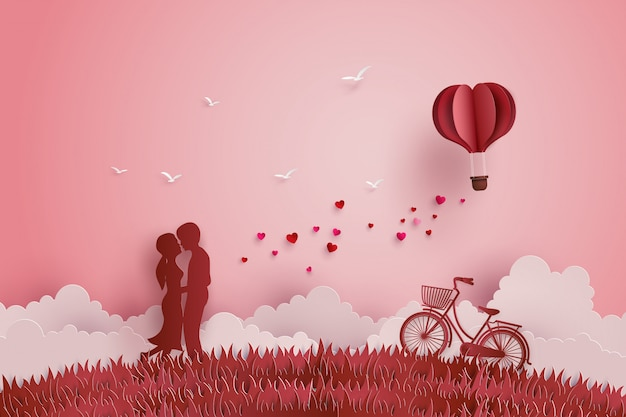 Иллюстрация любви и дня святого валентина