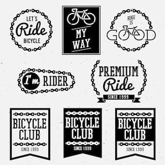 自転車バッジ