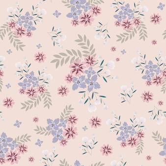 Цветочный узор фона