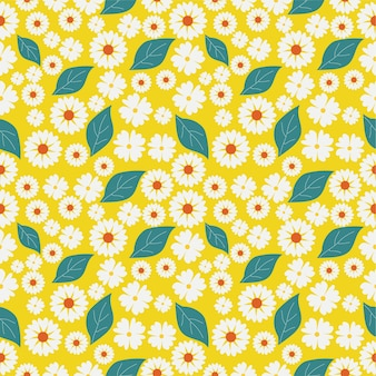 白い花の背景