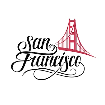 サンフランシスコのレタリング