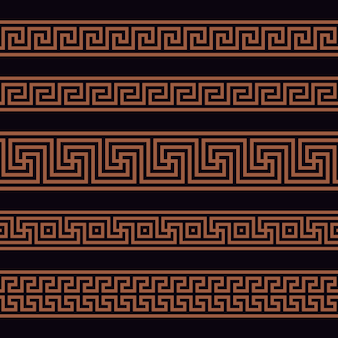 ギリシャのシームレスパターン