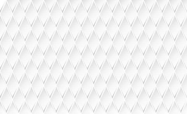 白い菱形の背景。