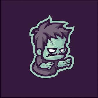 Логотип зомби-талисмана