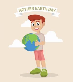 母なる地球の日。