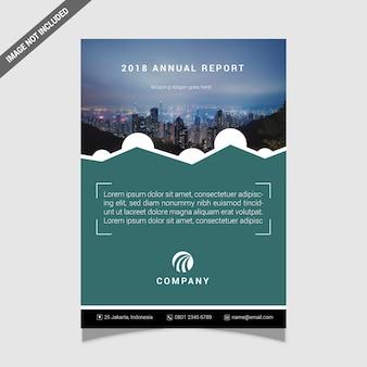 Черный обложка годовой отчет