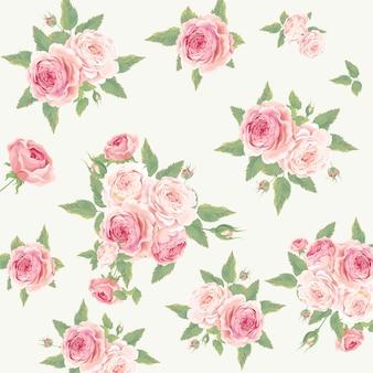 Красивый фон из роз