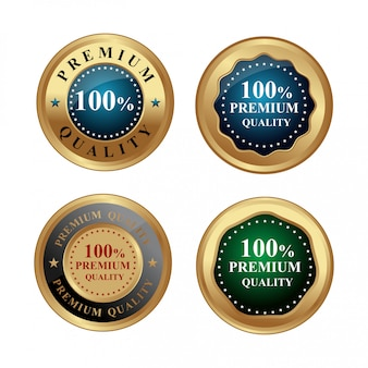 Золотая этикетка премиум качества