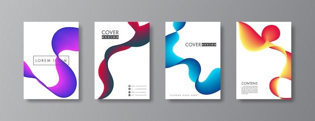 Абстрактная обложка и дизайн брошюры.