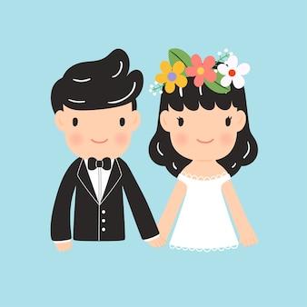 漫画の概念の結婚