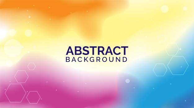 Фиолетовый оранжевый градиент абстрактные фоны, современные красочные фоны, динамические абстрактные фоны