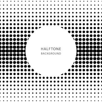 ハーフトーンの抽象的な背景