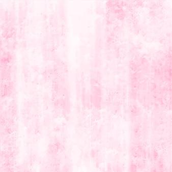 白い背景の上の抽象的なピンクの水彩画