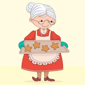 甘いおばあちゃんのクッキー