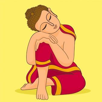 瞑想中の仏