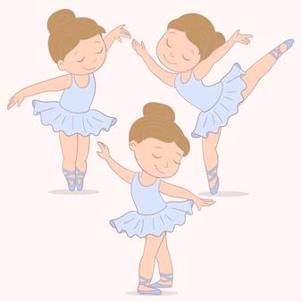 バレエ少女ダンサー