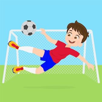 Молодой футболист