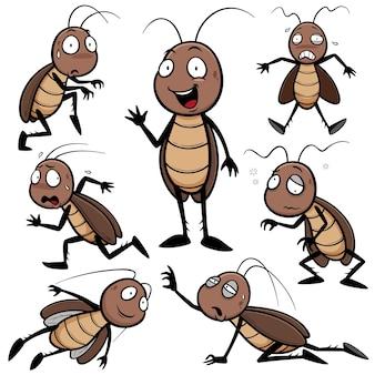 漫画のゴキブリキャラクター