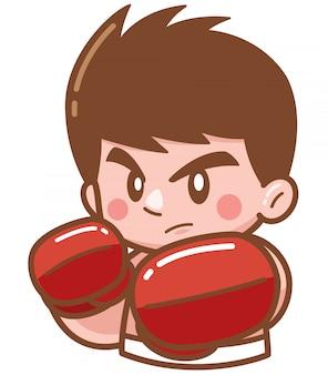 漫画ボクシング