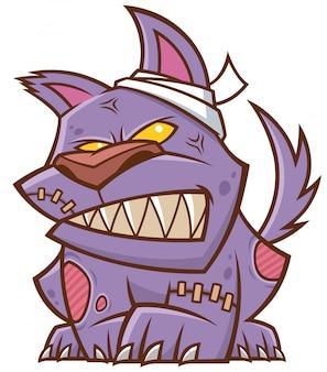 Мультфильм собака зомби