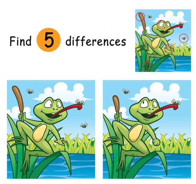 Игра для детей найди отличия
