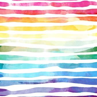 Акварель красочный фон радуги