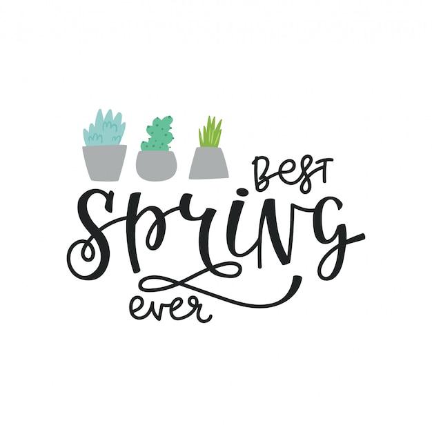 イラスト・レタリング春