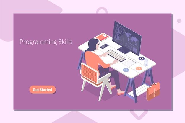 プログラミングとコーディングのスキル