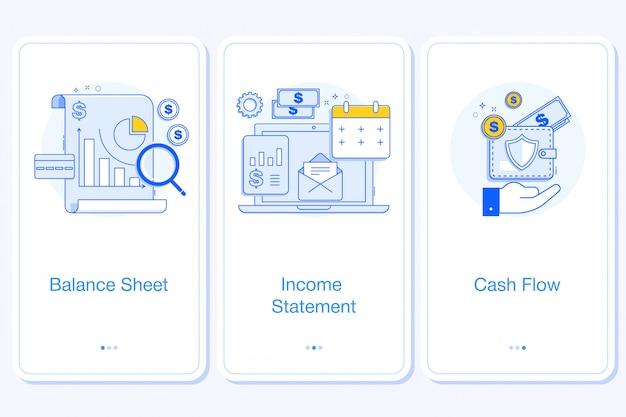 バナー財務諸表の概念