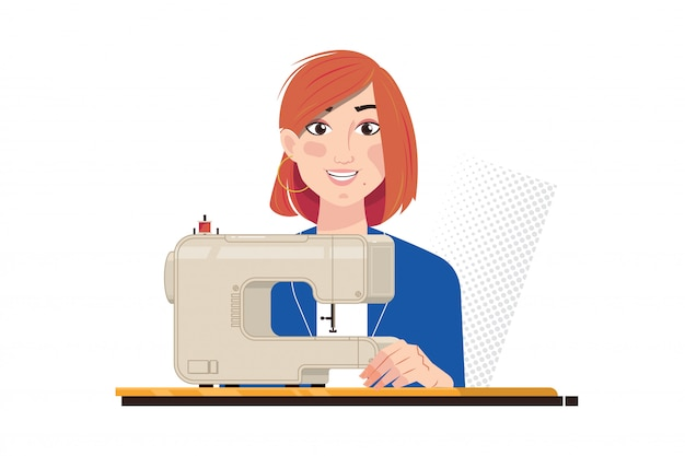 Швея электрическая промышленная швейная машина