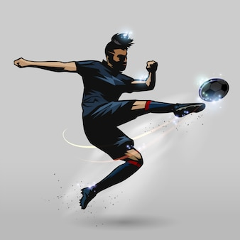 サッカーバレーボール選手