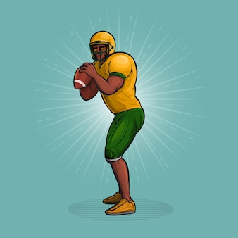 アメリカンフットボール選手のスロー