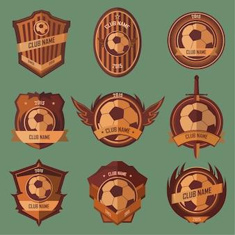 サッカーボールエンブレム