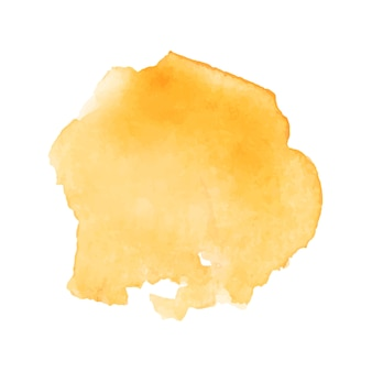 美しい黄金の水彩スプラッシュ