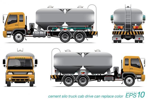 Силос грузовик