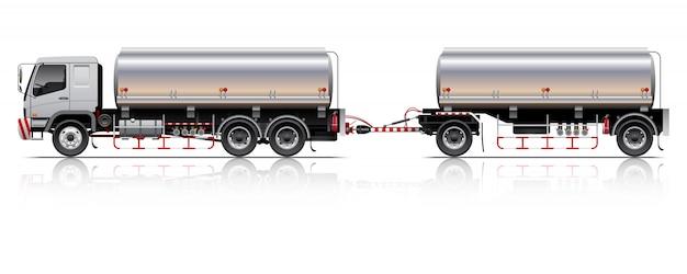 Иллюстрация трейлера танкера