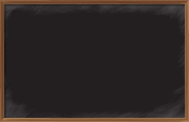 木製フレームの黒板