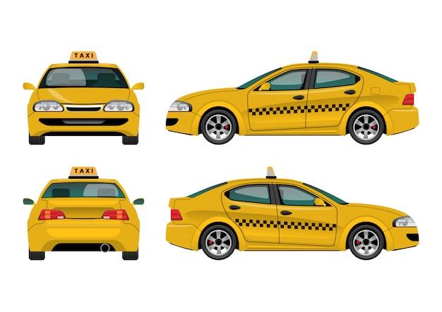 タクシー車
